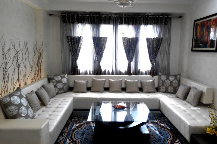 Home Interior with Sofa